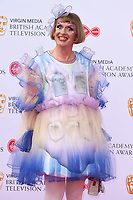 Grayson Perry<br /> arriving for the BAFTA TV Awards 2019 at the Royal Festival Hall, London<br /> <br /> ©Ash Knotek  D3501  12/05/2019