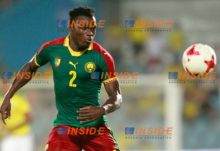 Cameroon's Ernes Mabouka during international friendly match. June 13,2017.(ALTERPHOTOS/Acero/Insidefoto)<br /> Camerun - Colombia <br /> Foto Acero/Alterphotos/Insidefoto <br /> ITALY ONLY