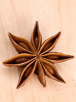 Anise (Star) Illicuim verum close-up