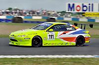 2001 British Touring Car Championship #111 Aaron Slight (NZ). Peugeot Sport UK. Peugeot 406 Coupé.