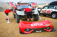 31st December 2020, Jeddah, Saudi Arabian. The vehicle and river shakedown for the 2021 Dakar Rally in Jeddah;   305 Loeb S bastien fra, Elena Daniel mco, Hunter, Bahrain Raid Xtreme, Auto, BRX, ambiance during the shakedown of the Dakar 2021 in Jeddah