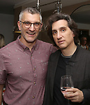 Trevor Hay and Hershey Felder attends the Opening Night of 'Hershey Felder As Irving Berlin' on September 5, 2018 at the 59E59 Theatre in New York City.