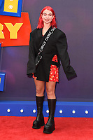 """Jess Woodley<br /> arriving for the """"Toy Story 4"""" premiere at the Odeon Luxe, Leicester Square, London<br /> <br /> ©Ash Knotek  D3509  16/06/2019"""