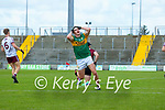 Sean O'Shea, Kerry misses a shot at goal during the Allianz Football League Division 1 South Round 1 match between Kerry and Galway at Austin Stack Park in Tralee.
