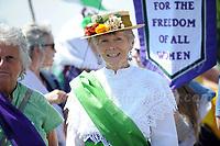 181006 Suffragettes procession in Cardiff