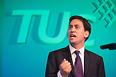 Ed Miliband. TUC Congress 2011 London.