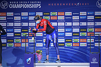 SPEEDSKATING: HEERENVEEN: 14-02-2021, IJsstadion Thialf, ISU World Speed Skating Championships 2021, Ragne Wiklund<br />