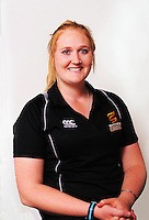 Rebecca Burns. Wellington Blaze headshots at Westpac Stadium, Wellington, New Zealand on Tuesday, 11 November 2014. Photo: Dave Lintott / lintottphoto.co.nz