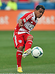 FC Dallas midfielder/forward David Ferreira (10) in action during the game between the FC Dallas and the Houston Dynamo at the FC Dallas Stadium in Frisco,Texas.