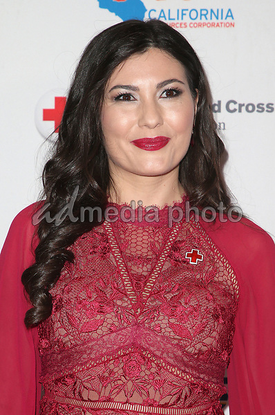 09 March 2018 - Los Angeles, California - Celeste Thorson. American Red Cross Annual Humanitarian Celebration Honoring The LA Chargers at the Skirball Cultural Center. Photo Credit: F. Sadou/AdMedia