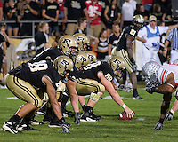 06 October 2007: Purdue offense..The Ohio State Buckeyes defeated the Purdue Boilermakers 23-7 on October 06, 2007 at Ross-Ade Stadium, West Lafayette, Indiana.