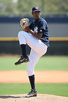 March 17th 2008:  Charlyn Garcia of the New York Yankees minor league system during Spring Training at Legends Field Complex in Tampa, FL.  Photo by:  Mike Janes/Four Seam Images