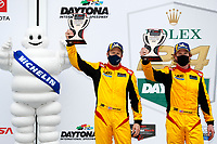 #40 JDC MotorSports Duqueine M30-D08, P3-1: Keith Grant, David Grant, victory lane