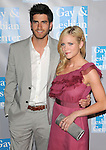 Brittany Snow & Ryan Rottman at 'AN EVENING WITH WOMEN: Celebrating Art, Music & Equality' held at The Beverly Hilton Hotel in Beverly Hills, California on April 24,2009                                                                     Copyright 2009 DVS / RockinExposures