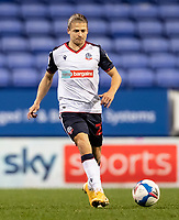 Bolton Wanderers' Lloyd Isgrove breaks <br /> <br /> Photographer Andrew Kearns/CameraSport<br /> <br /> The EFL Sky Bet League Two - Bolton Wanderers v Salford City - Friday 13th November 2020 - University of Bolton Stadium - Bolton<br /> <br /> World Copyright © 2020 CameraSport. All rights reserved. 43 Linden Ave. Countesthorpe. Leicester. England. LE8 5PG - Tel: +44 (0) 116 277 4147 - admin@camerasport.com - www.camerasport.com