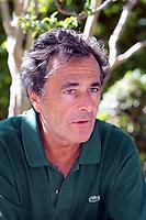 NICOLAS VANIER - CONFERENCE DE PRESSE POUR L'AVANT PREMIERE DU FILM 'L'ECOLE BUISSONNIERE' A AIX EN PROVENCE, FRANCE, LE 01/09/2017.