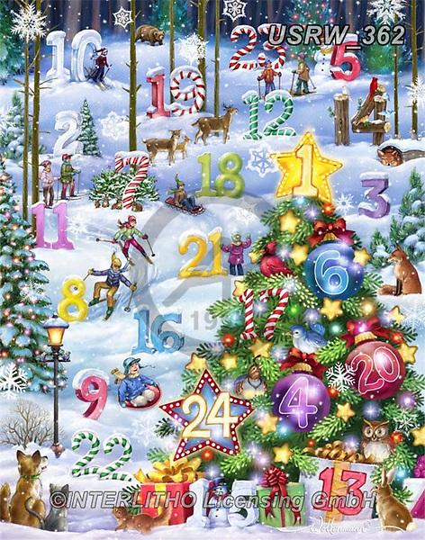 Randy, CHRISTMAS LANDSCAPES, WEIHNACHTEN WINTERLANDSCHAFTEN, NAVIDAD PAISAJES DE INVIERNO, paintings+++++,USRW362,#xl#