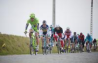 Ronde van Vlaanderen 2013..Peter Sagan (SVK) decending the Steenbeekdries