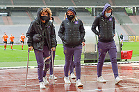 Kassandra Missipo (12) of Anderlecht pictured before a female soccer game between RSC Anderlecht Dames and Oud Heverlee Leuven on the seventh matchday of play off 1 of the 2020 - 2021 season of Belgian Womens Super League , saturday 15 th of May 2021  in Brussels , Belgium . PHOTO SPORTPIX.BE   SPP   STIJN AUDOOREN