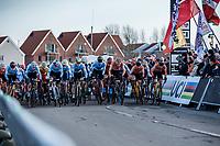 Men's Elite race start<br /> <br /> UCI 2019 Cyclocross World Championships<br /> Bogense / Denmark<br /> <br /> <br /> ©kramon