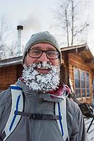 Man with a frosty beard, Greg Koop