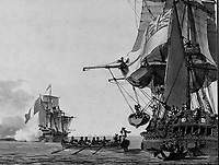 The Battle of Algeciras, 12 July 1801<br /> , Pierre Ozanne