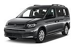 2021 Volkswagen Caddy Maxi-Life 5 Door Mini Mpv Angular Front automotive stock photos of front three quarter view