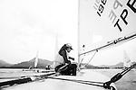 ISAF Emerging Nations Program, Langkawi, Malaysia.<br />Chueh-Yu Chou, TPECC3.<br />Laser, Sail Number: TPE 198911