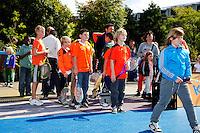 15-09-12, Netherlands, Amsterdam, Tennis, Daviscup Netherlands-Suisse, streettennis