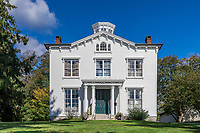 Captain Nathaniel B Palmer House, 1854, Stonington, Connecticut, USA.