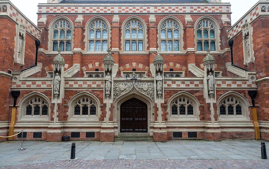 UK, England, Cambridge.  Old Divinity School, St. John's College.