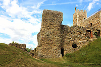 Framlingham Castle in Suffolk is one the English Heritage sites that have reopened to the public recently after closing amid the coronavirus lockdown. July 12th 2020<br /> <br /> Photo by Keith Mayhew