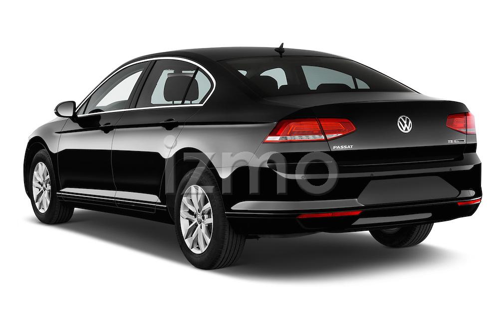 Car pictures of rear three quarter view of a 2015 Volkswagen Passat Comfort 4 Door Sedan Angular Rear