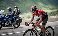 Mark Padun (UKR/Bahrain - Victorious) on his way to his 2nd consecutive stage win with yet another fenomenal solo up the final climb(s).<br /> <br /> 73rd Critérium du Dauphiné 2021 (2.UWT)<br /> Stage 8 (Final) from La Léchère-Les-Bains to Les Gets (147km)<br /> <br /> ©kramon