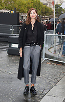 October 1 2017, PARIS FRANCE the l'Oreal Show at the Paris Fashion Week<br /> Spring Summer 2017:2018. Model Aymeline Valade arrives at the show.