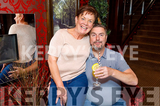 Brenda and Noel Stewart from Newcastlewest enjoying the evening in Benners Hotel on Saturday.