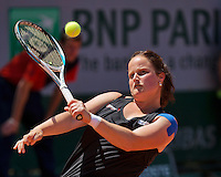 France, Paris, 04.06.2014. Tennis, French Open, Roland Garros, Aniek van Koot (NED)<br /> Photo:Tennisimages/Henk Koster