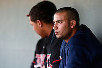 May 19  2007: Matt Bush of the Lake Elsinore Storm during game against the Lancaster JetHawks at Clear Channel Stadium in Lancaster,CA.  Photo by Larry Goren/Four Seam Images