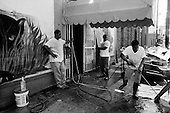 """New Orleans, Louisiana.USA.September 29, 2005 ..The """"Club Fabulous"""" cleans up."""