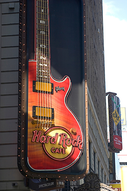 Hard Rock Cafe,Theater District, New York, New York
