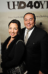 Cindy and Massey Villarreal at Celebrating 40 Years: University of Houston- Downtown Gala at the JW Marriott Downtown Friday Jan. 23,2015.(Dave Rossman For the Chronicle)