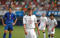 Hunter Freeman. Italy defeated the USA 3-1 at the FIFA World Youth Championships at Arke Stadion, Enschede, Netherlands on June 21, 2005..