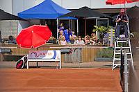 Netherlands, Amstelveen, August 23, 2015, Tennis,  National Veteran Championships, NVK, TV de Kegel,  Terras<br /> Photo: Tennisimages/Henk Koster