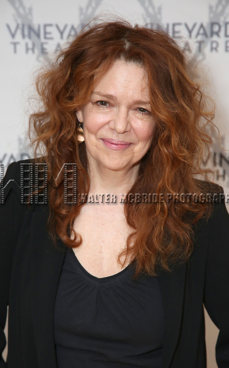 "Deirdre O'Connell  during the cast photo call for the Vineyard Theatre Production of Dana H."" at the Vineyard Theatre Rehearsal Studios on February 4, 2020 in New York City."