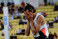 9th July 2021, Monaco, France; Diamond League Athletics, Herculis meeting, Monaco; Gianmarco Tamberi Italy mens high jump