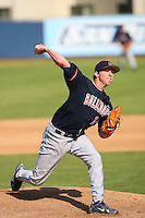 Feb 29 2008: Tanner Scheppers of the Fresno State University Bulldogs during game at University of San Diego in San Diego,CA.  Photo by Larry Goren/Four Seam Images