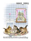 GIORDANO, CUTE ANIMALS, LUSTIGE TIERE, ANIMALITOS DIVERTIDOS, paintings+++++,USGI2901,#AC#