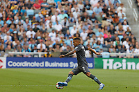 SAINT PAUL, MN - JULY 3: Franco Fragapane #7 of Minnesota United FC during a game between San Jose Earthquakes and Minnesota United FC at Allianz Field on July 3, 2021 in Saint Paul, Minnesota.