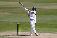 Will Rhodes hits 6 runs for Warwickshire during Warwickshire CCC vs Essex CCC, LV Insurance County Championship Group 1 Cricket at Edgbaston Stadium on 25th April 2021