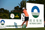 TAOYUAN, TAIWAN - OCTOBER 22: Yani Tseng of Taiwan tees off on the 17th hole during day three of the LPGA Imperial Springs Taiwan Championship at Sunrise Golf Course on October 22, 2011 in Taoyuan, Taiwan. Photo by Victor Fraile / The Power of Sport Images
